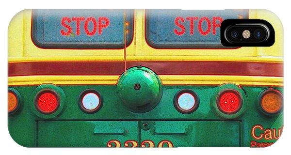 Trolley Car iPhone Case - Trolley Car - Digital Art by Robyn King