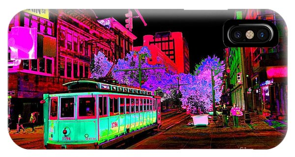 Trolley Night IPhone Case