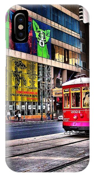 Trolley Time IPhone Case
