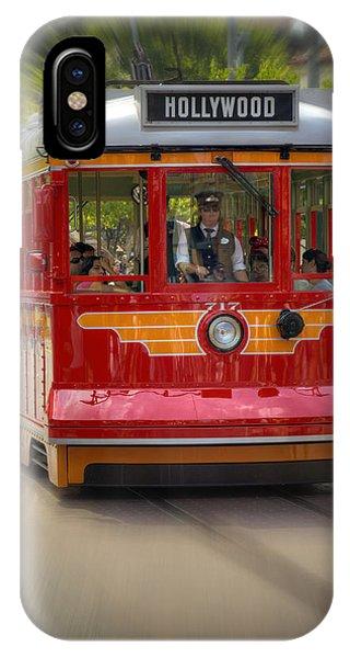 Trolley Car iPhone Case - Trolleywood by Ricky Barnard