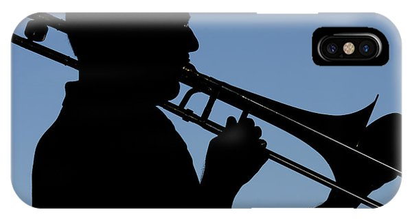 Trombone Player IPhone Case