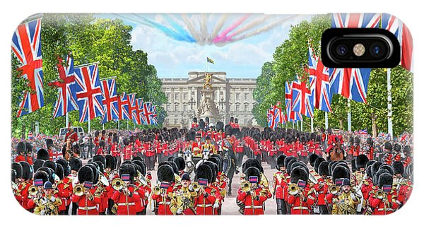 Palace iPhone Case - Trooping The Colour - Colonel's Review by MGL Meiklejohn Graphics Licensing