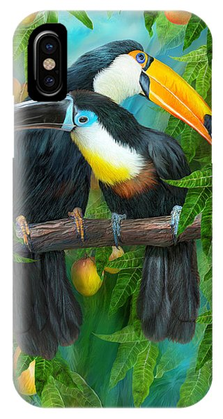Tropic Spirits - Toucans IPhone Case