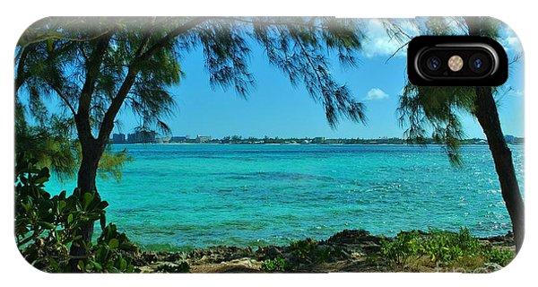Tropical Aqua Blue Waters  IPhone Case