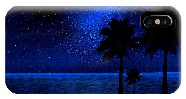 Tropical Beach Wall Mural IPhone Case