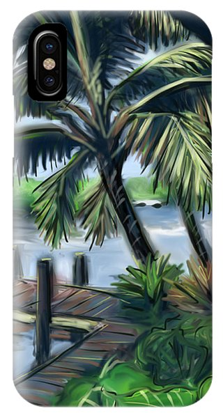 Tropical Dock IPhone Case