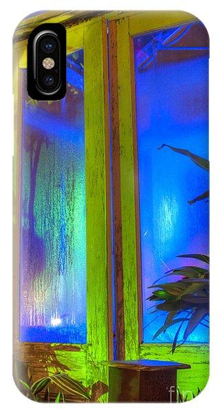 Tropical Door IPhone Case