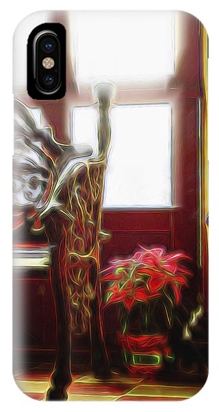 Tropical Drawing Room 1 IPhone Case