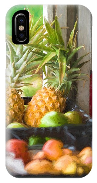 Tropical Fruitstand IPhone Case