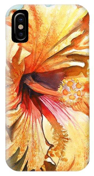 Tropical Hibiscus 3 IPhone Case