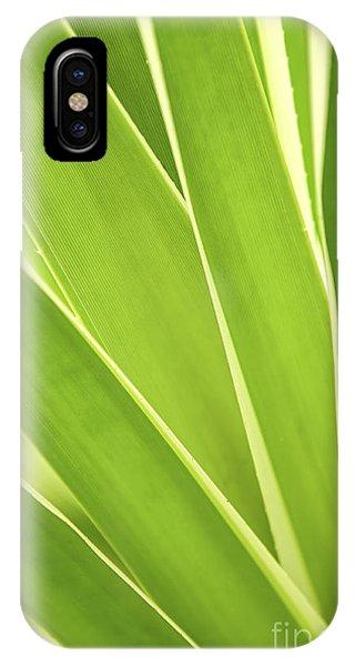 Leaf iPhone Case - Tropical Leaves by Elena Elisseeva