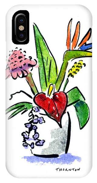 Tropical Mix IPhone Case