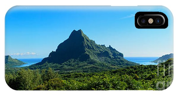 Tropical Moorea Panorama IPhone Case