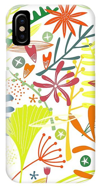 Summer Fruit iPhone Case - Tropical by Nic Squirrell