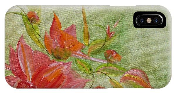 Tropical Splash IPhone Case