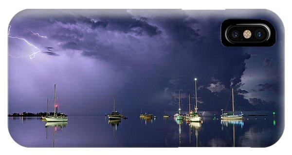 Violet iPhone Case - Tropical Storm1 by Alexandru Popovski