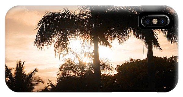 Tropical Sunrise IPhone Case