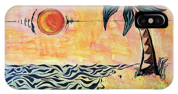 iPhone Case - Tropical Tribal by Michael Rados