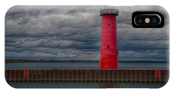Troubled Skies Phone Case by Ricky L Jones