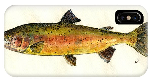 Trout Fish IPhone Case