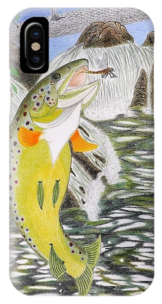 Trout Stream In May IPhone Case