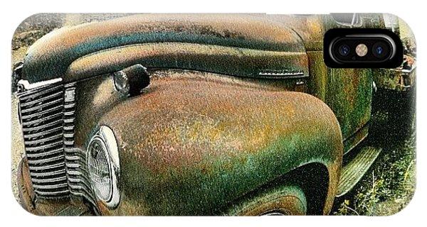 Classic iPhone Case - #truck #rust #rusty #pickup #photo by Jill Battaglia