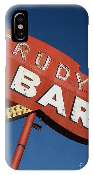 Seattle iPhone X Case - Trudy's Bar by Jim Zahniser