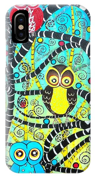 Trudys Owls IPhone Case