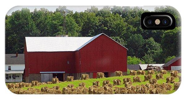 True Amish Farm IPhone Case