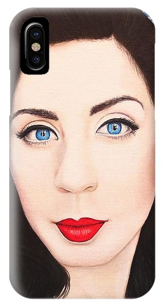 True Beauty - Lisa Boros IPhone Case