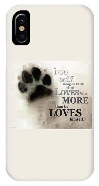 True Love - By Sharon Cummings Words By Billings IPhone Case