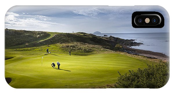 Turnberry Seascape Golf Course IPhone Case