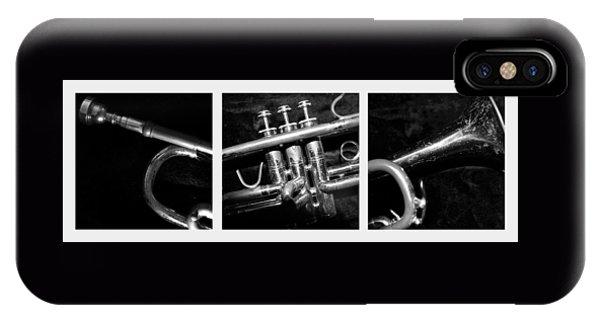 Trumpet Triptych IPhone Case