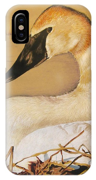 Sold Trumpeter Swan IPhone Case
