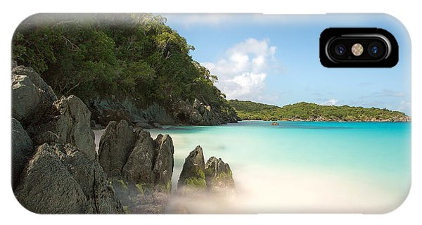 Trunk Bay At St. John Us Virgin Islands IPhone Case