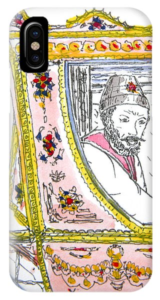 Tsar In Carriage IPhone Case