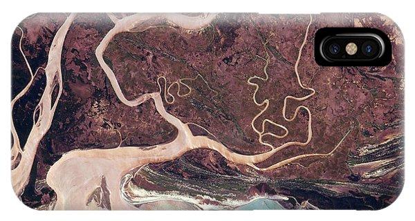 International Space Station iPhone Case - Tsiribihna River by Nasa