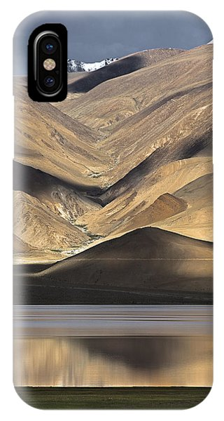 Golden Light Tso Moriri, Karzok, 2006 IPhone Case