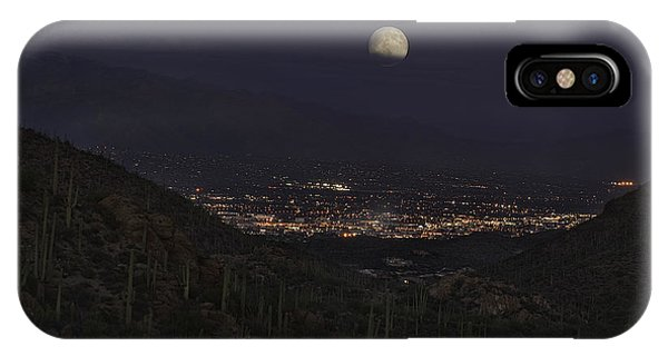 Tucson At Dusk IPhone Case