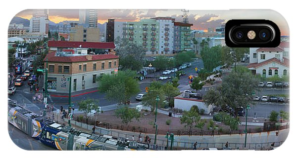 Tucson Streetcar Sunset IPhone Case