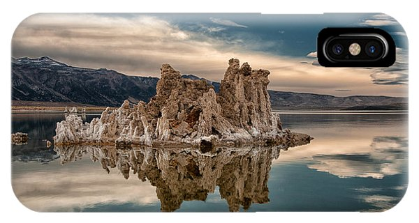 Salt Water iPhone Case - Tufa Reflections by Cat Connor