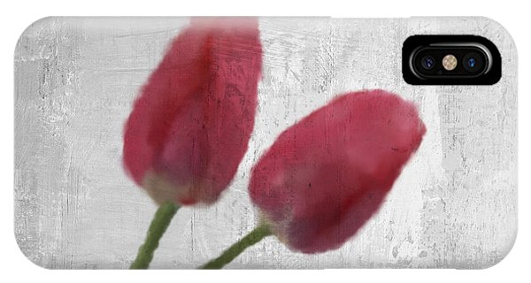 Contemporary Floral iPhone Case - Tulip by Aged Pixel