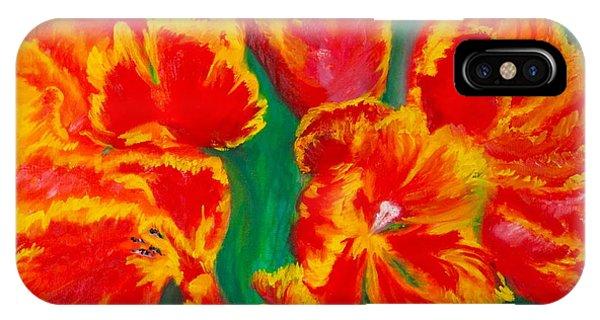 Tulip Days IPhone Case