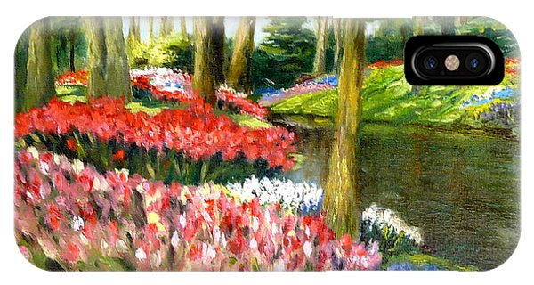 Tulip Gardens IPhone Case