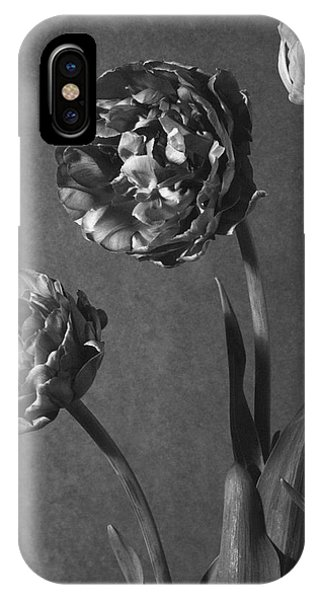 Tulip Pensee Roses IPhone Case