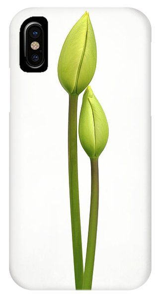 Simple iPhone X Case - Tulip Time by Lotte Gr??nkj??r