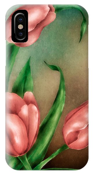 Tulip Trio IPhone Case