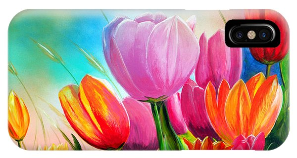 Tulipa Festivity IPhone Case