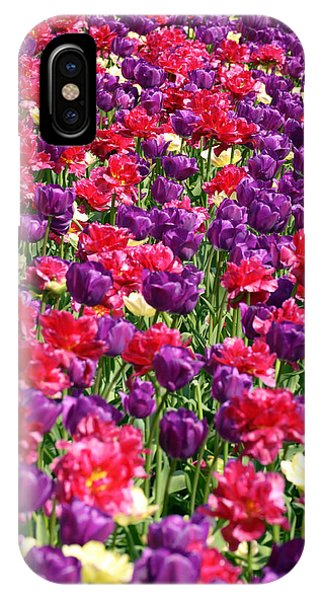 Tulips In A Meadow IPhone Case