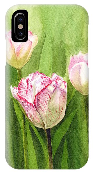 Tulips In The Fog IPhone Case